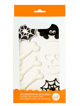 Set 7 piezas decorativas de azúcar Halloween