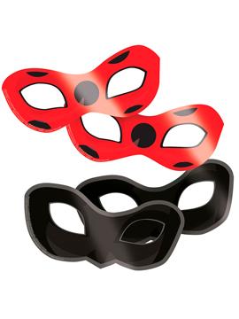 Set 8 Máscaras Ladybug