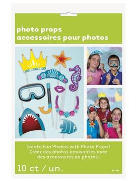Set de 10 Accesorios para Photocall Bajo el Mar
