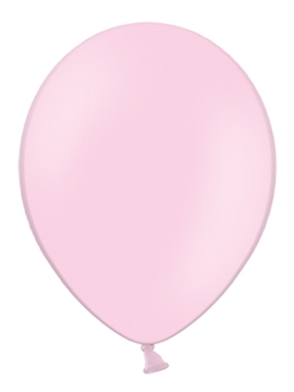 globos rosa pastel 30 cm