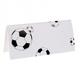 Set de 10 Tarjetas de Lugar fútbol