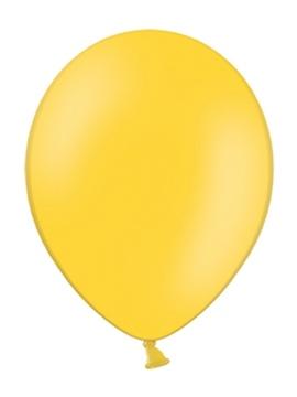 Set de 100 Globos Amarillo Miel Pastel 23 cm