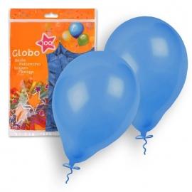 Set de 100 Globos Azul 23cm