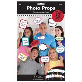 Set de 13 Accesorios para Photocall Personalizables