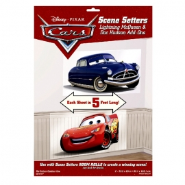 Set de 2 Decoraciones de Pared Cars