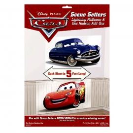 Set de 2 Decoraciones de Pared Cars