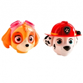 Set de 2 Figuras para Tarta Patrulla Canina