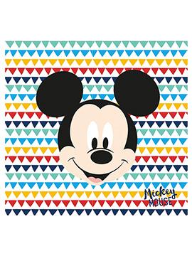 Juego de 20 Servilletas Mickey Mouse