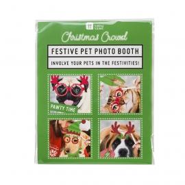 Set de 22 Accesorios de Photocall para Mascotas Navidad