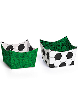 Set de 24 Mini Recipientes para Dulces Fútbol