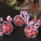 Set de 4 Balones de Fútbol Transparentes para Dulces