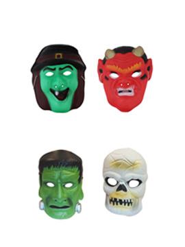 Set de 4 Caretas Halloween