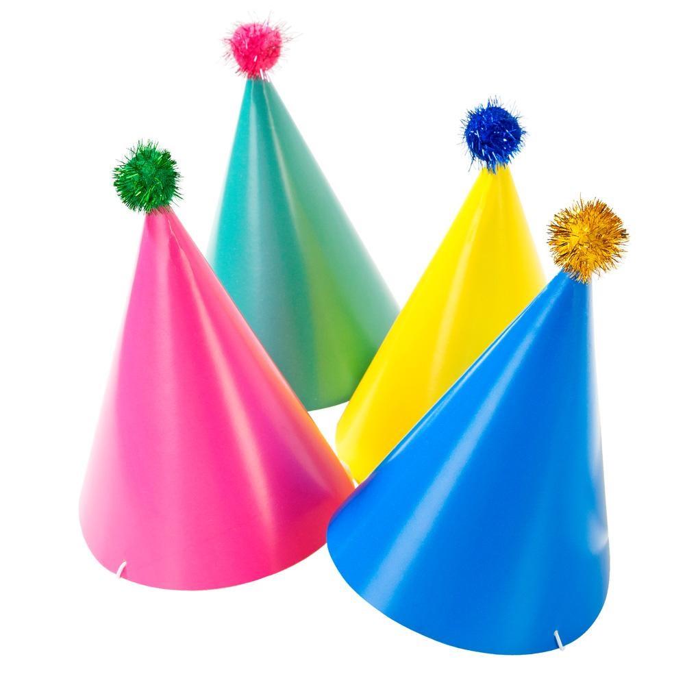Set de 4 sombreros para fiestas