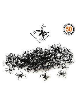 Set de 50 Arañas Decorativas