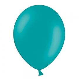 Set de 50 Globos Azul Laguna Pastel 30 cm