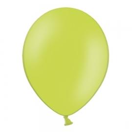 Set de 50 Globos Verde Lima Pastel 30 cm