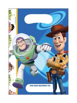 Juego de 6 Bolsas Chuches Toy Story Woody y Buzz