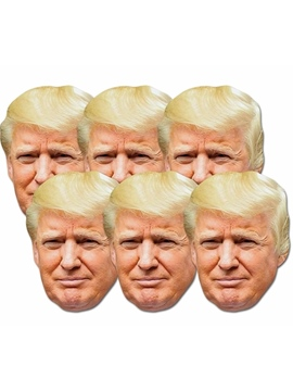Set de 6 Máscaras Donald Trump