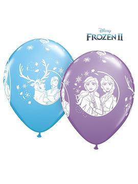 Set de 6 Globos Frozen 30 cm