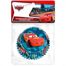 Set de 60 Cápsulas para Cupcakes Cars