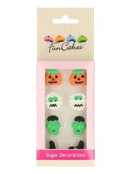 Set de 8 Decoraciones de Azúcar Halloween