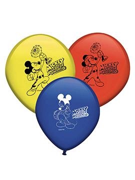 Juego de 6 Globos Mickey Mouse y Los Superpilotos