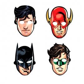 Set de 8 Máscaras Liga de la Justicia