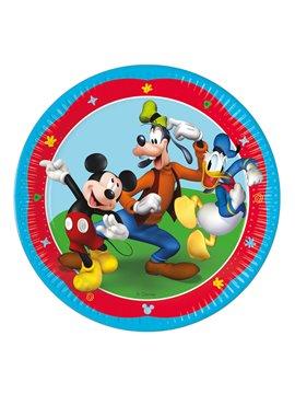 Juego de 8 Platos Mickey Mouse 23 cm