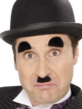 Set Bigote y Cejas Chaplin