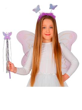 Set Hada Infantil Diadema, Alas y Varita