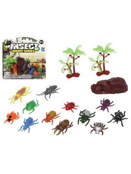 Set de Insectos Decorativos Surtidos 15 ud
