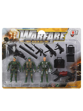 Set de Muñecos Militares