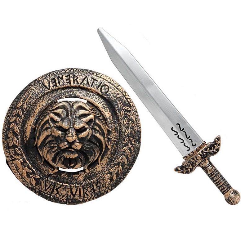 Set Espada y Escudo Gladiador