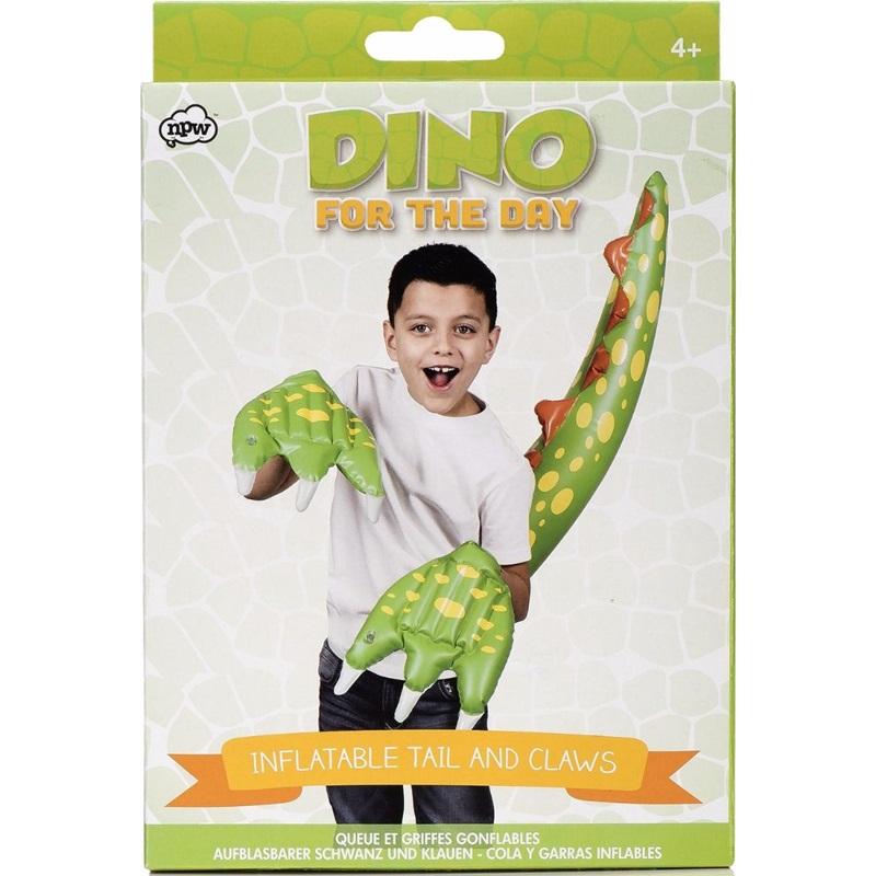 Set Garras y Cola de Dinosaurio Inflable