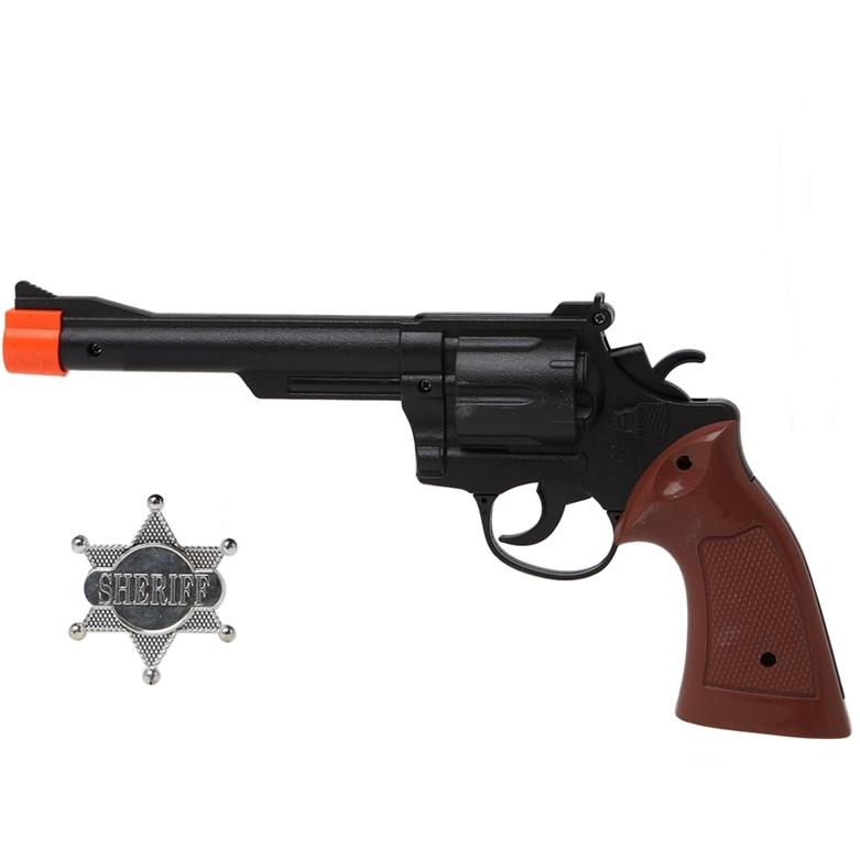 Set Revólver y Estrella de Sheriff