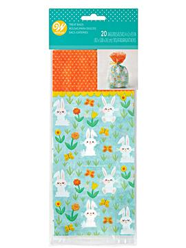 Set de 20 bolsitas de conejitos de Pascua