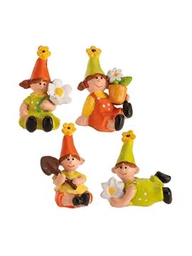 Figuritas Roscón de Reyes Jardineros