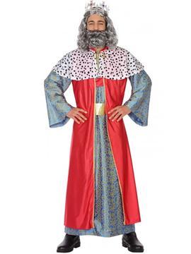 Disfraz Gaspar Rey Mago Adulto