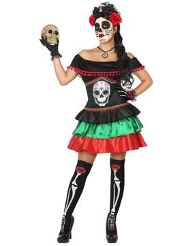 Disfraz Catrina Esqueleto