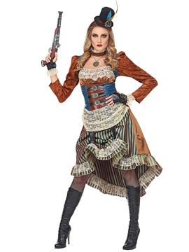 disfraz steampunk mujer