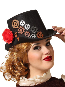 Sombreo Steampunk Mujer