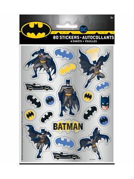 Set de 80 Pegatinas Batman