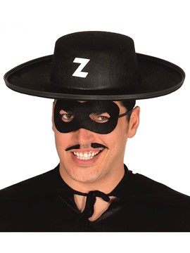 Sombrero Bandido Negro