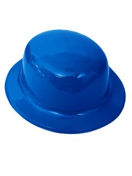 Sombrero Bombín Azul Oscuro 26 cm