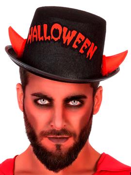 Sombrero Cuernos Diablo Halloween