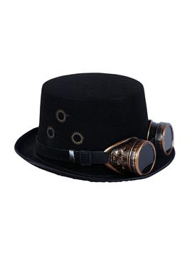 Sombrero con Gafas Steampunk