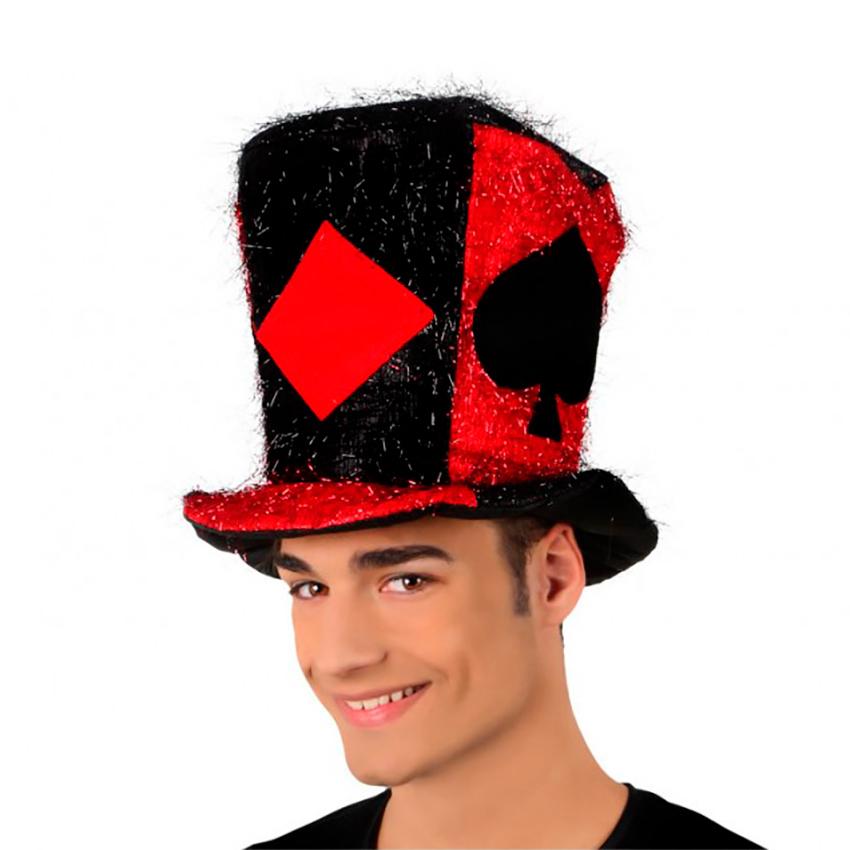 ▷ Sombrero de Copa Poker para Carnaval 🎉 - Envíos 24h ✅ dc78cf678a9