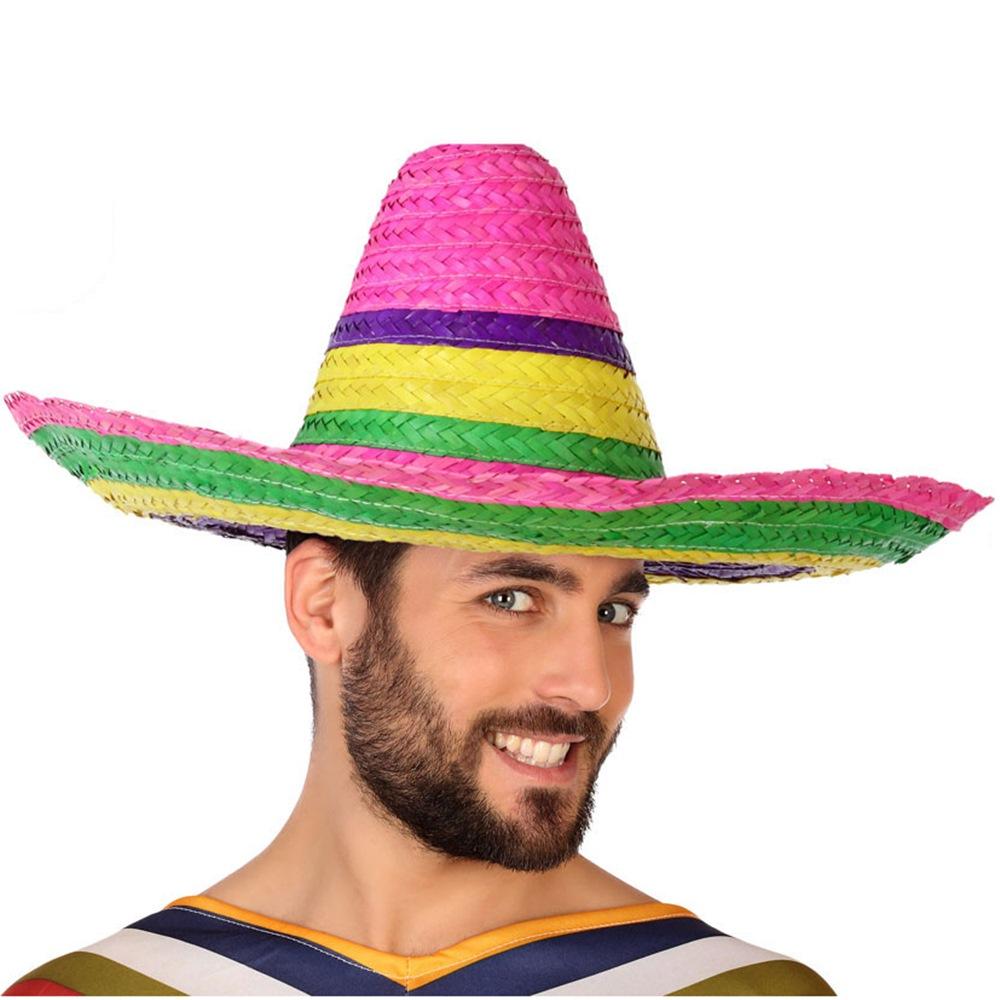 Sombrero Mexicano Multicolor - Comprar Online  Miles de Fiestas  103589ce1b6
