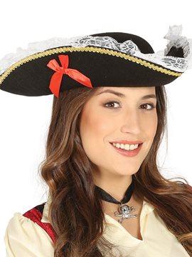 Sombrero Mujer Pirata