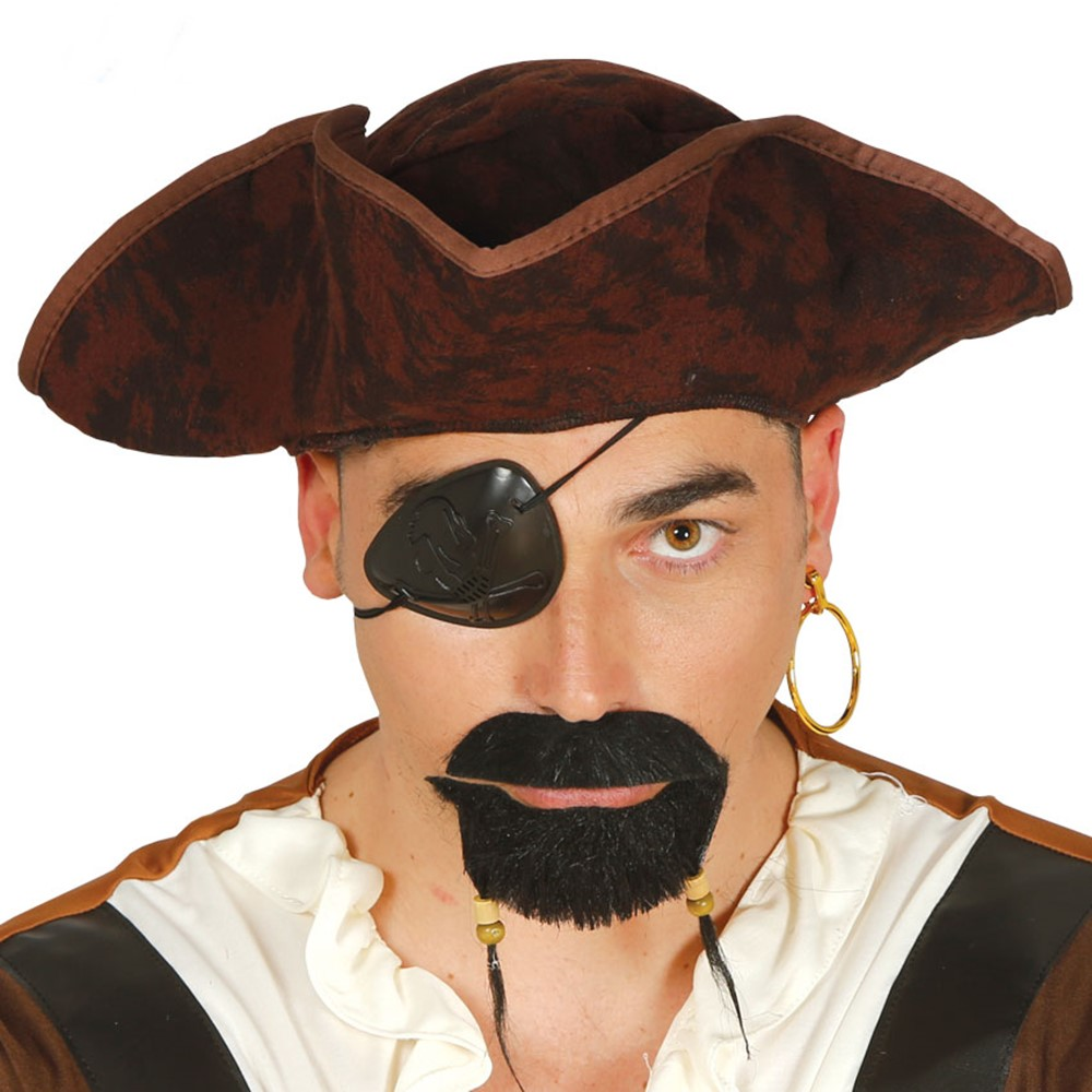Sombrero Pirata Marrón